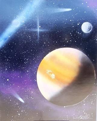 Painting - Space Art 3 by Lane Owen