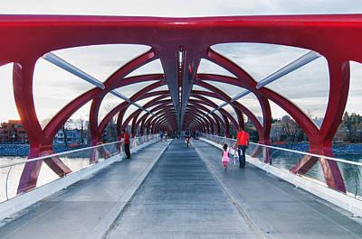 Photograph - Space Bridge by Guy Whiteley