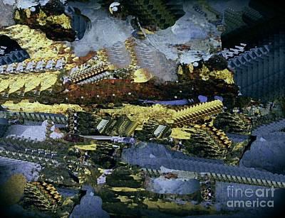 Digital Art - Space Colonies 2 by Nancy Kane Chapman