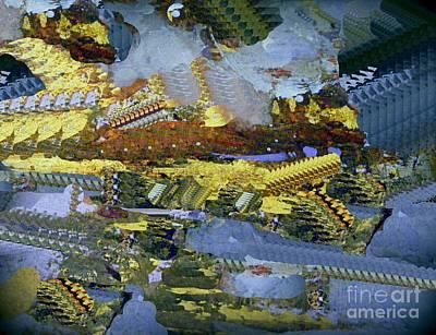 Digital Art - Space Colonies by Nancy Kane Chapman