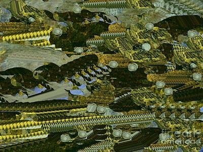 Digital Art - Space Colony 5 by Nancy Kane Chapman