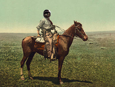 Photograph - Space Cowboy 1898 by Richard Reeve