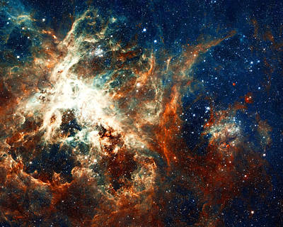 Science Fiction Photograph - Space Fire by Jennifer Rondinelli Reilly - Fine Art Photography