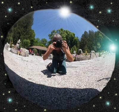 Photograph - Space Hub by David and Lynn Keller