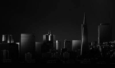 Downtown San Francisco Photograph - Space II by Juan Pablo De