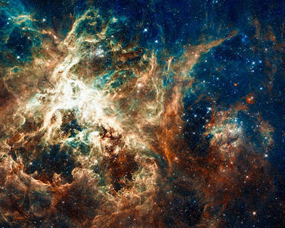 Photograph - Space Image Star-forming Region 30 Doradus by Matthias Hauser