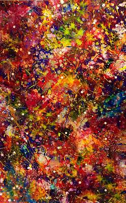 Painting - Space Junk by Patrick OLeary