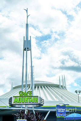 Photograph - Space Mountain by Pamela Williams