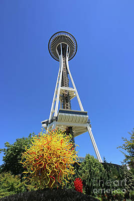 Photograph - Space Needle  2502 by Jack Schultz