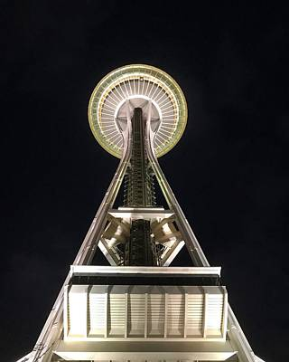 Space Needle Art Print