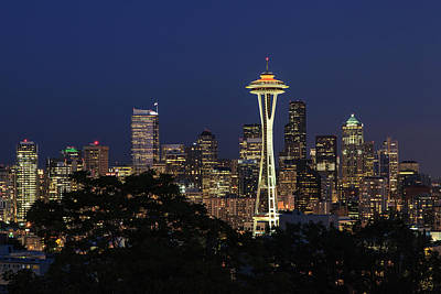 Photograph - Space Needle by David Chandler