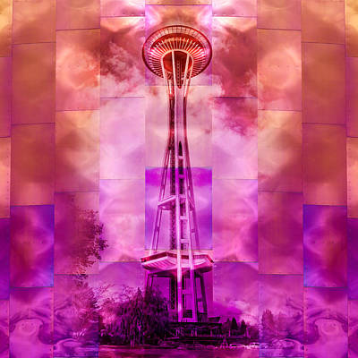 Photograph - Space Needle - Emp - Seattle by Nikolyn McDonald