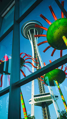 Photograph - Space Needle by Jason Butts