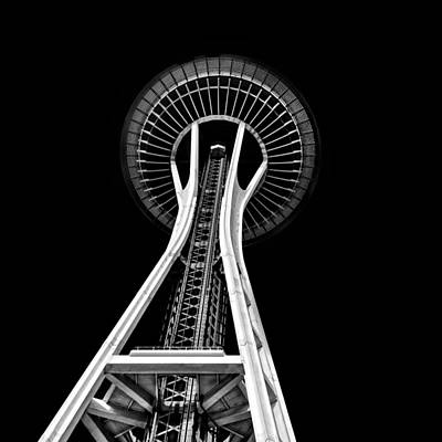 Photograph - Space Needle by Rod Sterling