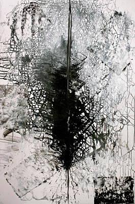 Painting - Space Oddity by Jarmo Korhonen aka Jarko