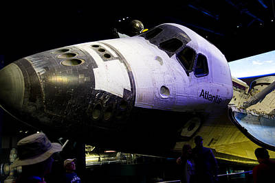 Photograph - Space Shuttle Atlantis by Allan Morrison