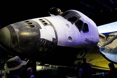 Photograph - Space Shuttle Atlantis by Allan Morrison