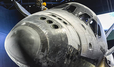 Photograph - Space Shuttle Atlantis by David Collins