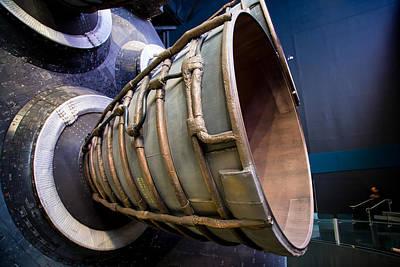 Photograph - Space Shuttle Exhaust by Allan Morrison