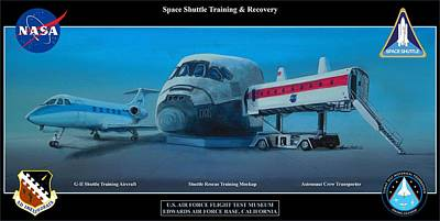 Space Shuttle Training And Recovery Original