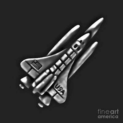 Photograph - Space Shuttle by Walt Foegelle