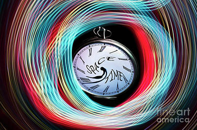 Photograph - Space Time Continuum by Bob Christopher