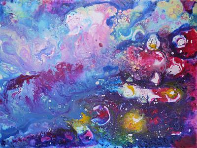Space Travel 1 Art Print by Bitten Kari