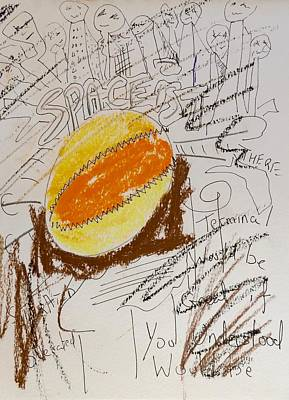 Luminous Drawing - Spaceist by Contemporary Art By PEARSE