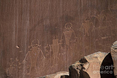 Photograph - Spacemen Of Capitol Reef by Stan and Anne Foster