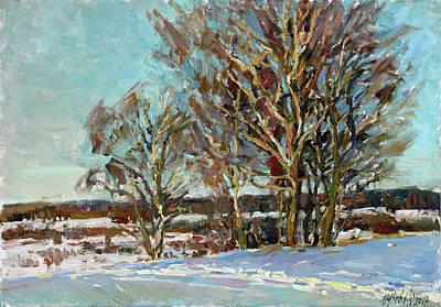 Painting - Spaces Of The Trigorskoe by Juliya Zhukova