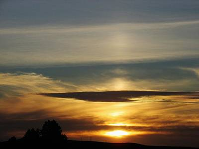 Photograph - Spaceship Cloud by Dianne  Connolly