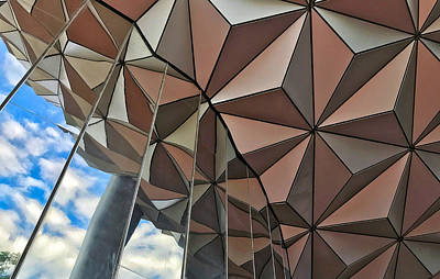 Photograph - Spaceship Earth And Sky by Nora Martinez