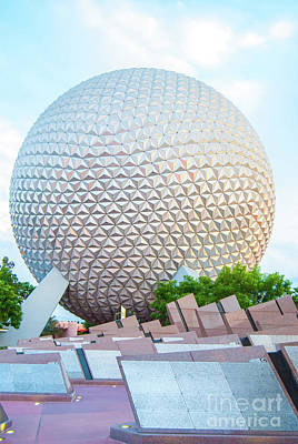Photograph - Spaceship Earth by Pamela Williams