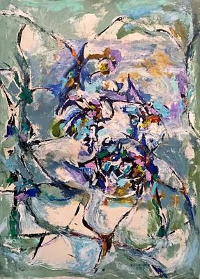 Painting - Spacial Encounter by Nicolas Bouteneff
