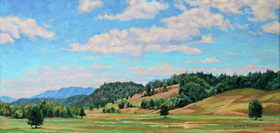 Painting - Spacious Skies by Bonnie Mason