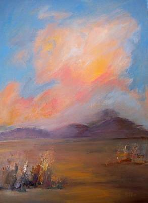Painting - Spacious Skies by Sally Bullers
