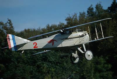 Photograph - Spad S.xiii In Flight by John Clark