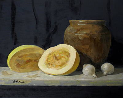 Painting - Spaghetti Squash by Robert Holden