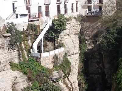 Photograph - Spain Cliff Dwellings by David and Lynn Keller