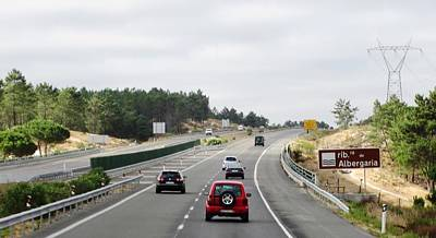 Photograph - Spain Highway Towards Seville by John Shiron