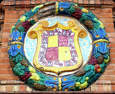Photograph - Spain Royal Coat Of Arms by John Rizzuto