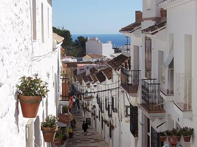 Royalty Free Images Photograph - Spain Street by David and Lynn Keller