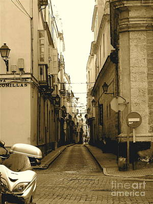 Spain Streets Art Print by Carly Athan