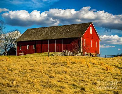Photograph - Spangler Farm Hospital  by Nick Zelinsky