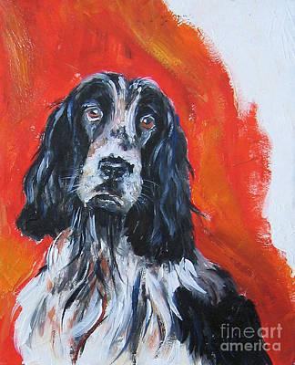Painting - Spaniel by Debora Cardaci