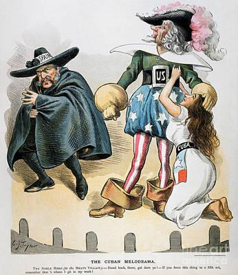 Photograph - Spanish-american War, 1896 by Granger