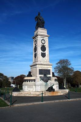 Photograph - Spanish Armada Memorial Plymouth by Chris Day