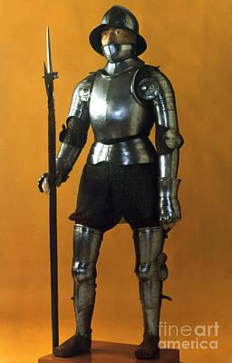 Photograph - Spanish Armor, C1490 by Granger