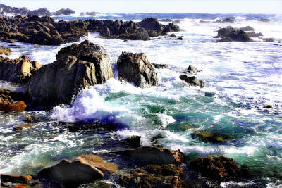 Ocean Photograph - Spanish Bay 3 by Alan Hausenflock