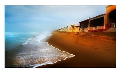 Caravaggio - Spanish Beach Chalets by Mal Bray